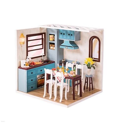 [adico] DIY 미니어처 코지 하우스 - 주방