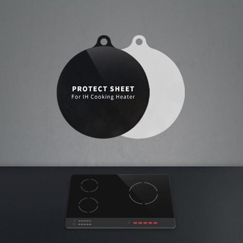 히키스 IH 인덕션 스크래치방지 논슬립 양면보호매트