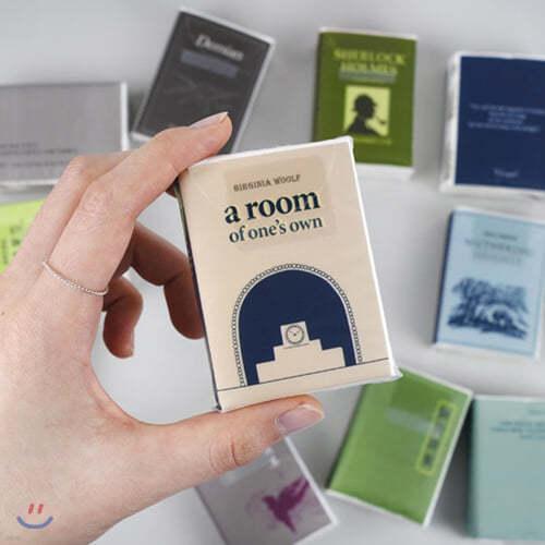 [쿠폰가: 7,900원][YES24단독판매] 한국문학 포켓 티슈 + 세계문학 포켓 티슈