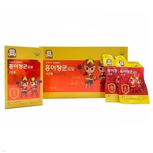 [정관장] 홍이장군 로얄 1단계 (15ml*30포) / (3~4세)