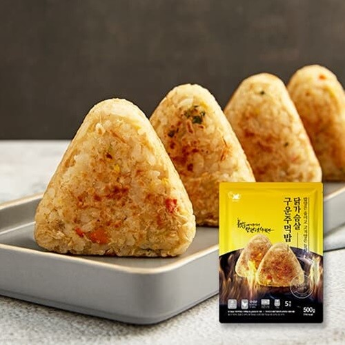 [헬스앤뷰티] 닭가슴살 구운주먹밥 1봉(5개입)