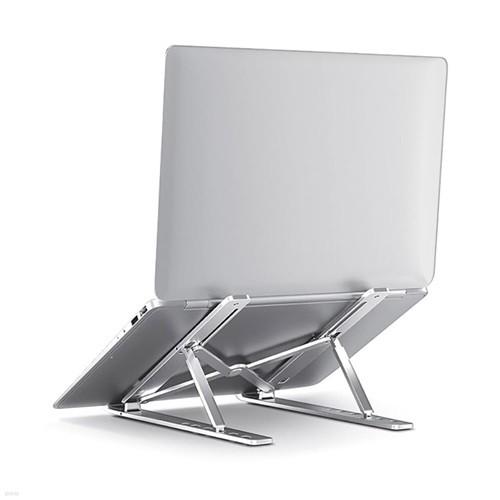 브리츠 BA-AMK5 휴대용 노트북 태블릿 접이식 거치대 15.6인치 높이 각도조절 맥북 알루미늄 받침대 스탠드