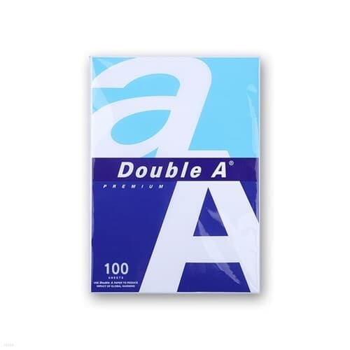 업무 학원 레포트 더블에이 A4 잉크젯 복사용지 100매