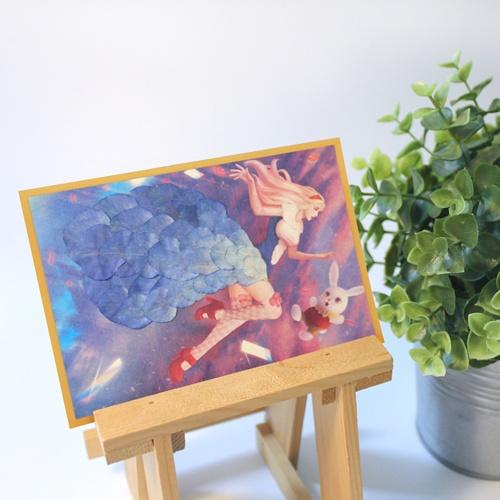 Dried Flower Drawing Alice In Wonderland Diy Kit Yes24